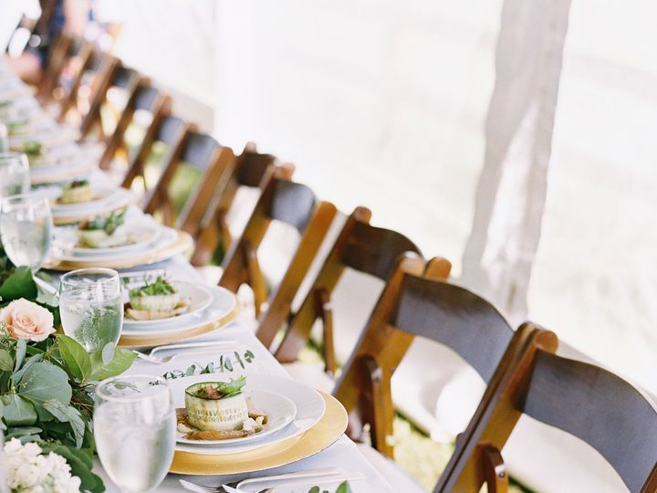 Tmx 1513187385318 Mahogany Padded Chair Head Table Silverthorne, Colorado wedding rental