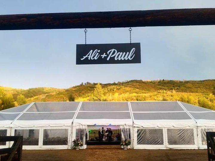 Tmx 1513190486060 Ali  Paul  Steamboat  Navi  Clear Tent Silverthorne, Colorado wedding rental