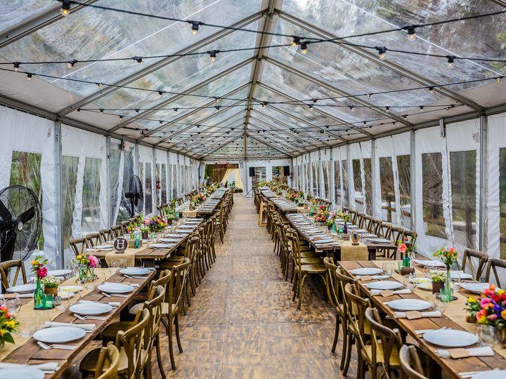 Tmx 1513194700909 Farm Tables With Clear Top Tent Silverthorne, Colorado wedding rental