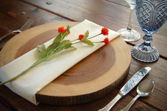 Tmx 1525987025 B975174ec4b4b3ed 1525987025 18ddd02f5d7a7767 1525987029020 4 Wood Slice Charger Silverthorne, Colorado wedding rental