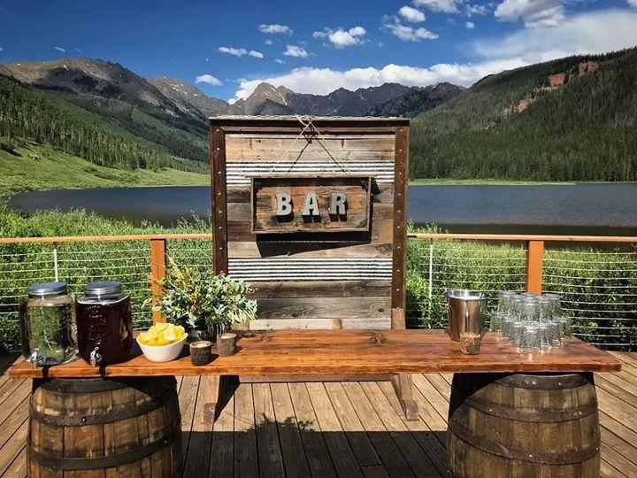 Tmx 1533829533 F4832d90c8b01997 1533829532 9502e1c6c366505e 1533829534889 5 Whskey Barrel Bar  Silverthorne, Colorado wedding rental