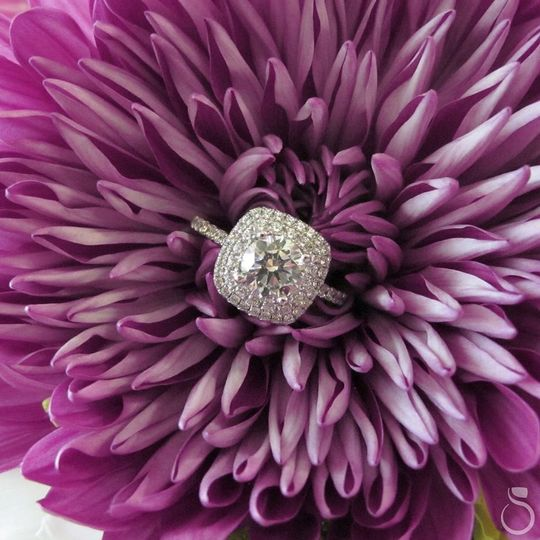 Ring on a flower