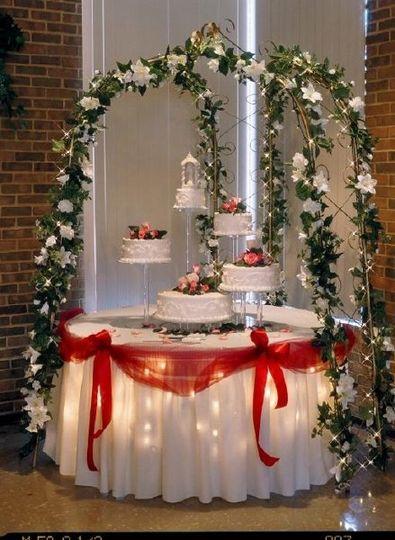 Have your Wedding Cake Displayed Beautifully!