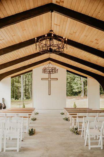Chapel w/ Benches Setup