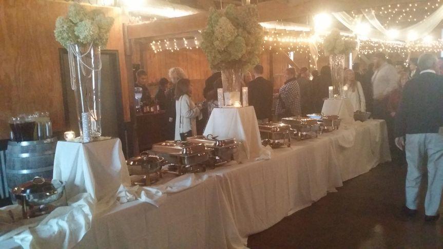 Italian Buffet Wedding at Talon Vineyard
