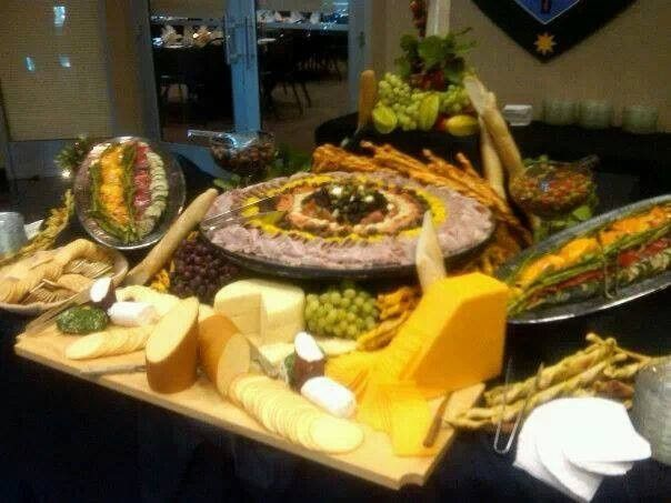 Cheese Display for Cincinnati Bengals with Georgetown College