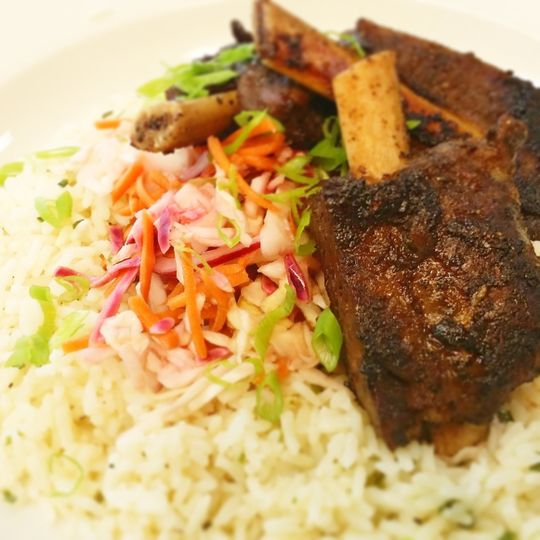 Stonecross Farms Short Ribs with Basmati Rice - Lexington Diner