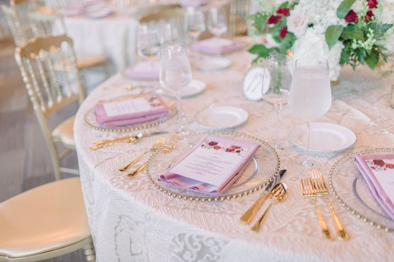 Fresh table arrangements