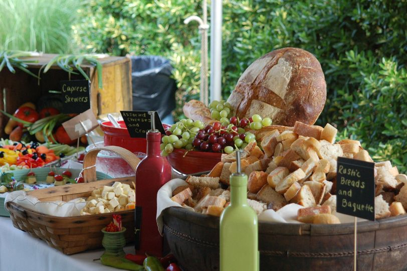 Country cheese table