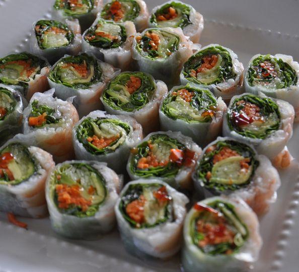 Thai summer rolls