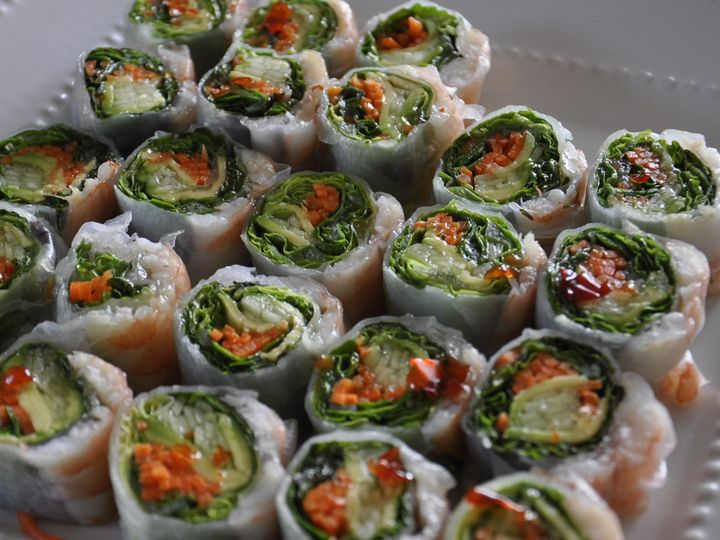 Tmx 1447338594607 Apps Spring Roll 2 Brewster wedding catering