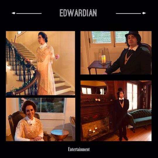Edwardian Themed Wedding