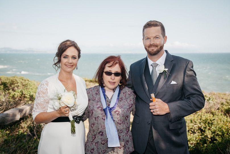 Ceremony near Muir Beach