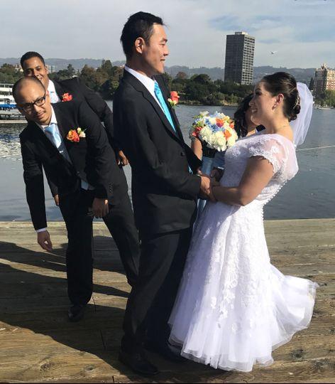 Newlyweds, Lake Chalet