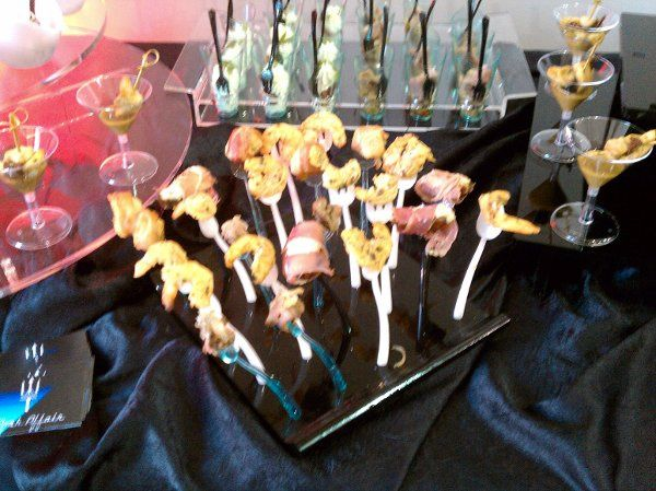 A Posh Affair's Custom Displays to adorn your Banquet Tables or Buffets