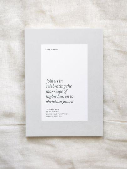 Everett Invitation Suite