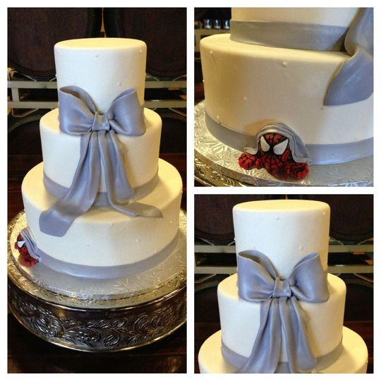 palm event center wedding cake