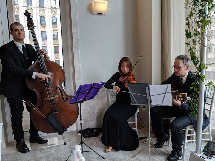 Jazz trio at four seasons