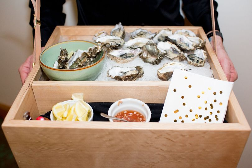 Passed Oyster Display Jessica Hill Photography
