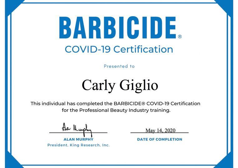 Barbicide   COVID 19