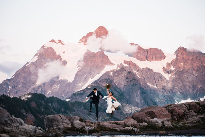 Mount shuksan elopement