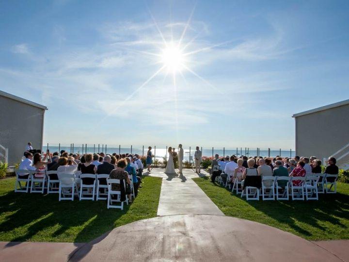 Tmx 1460137606221 Courtyard Ceremony North Falmouth, MA wedding venue