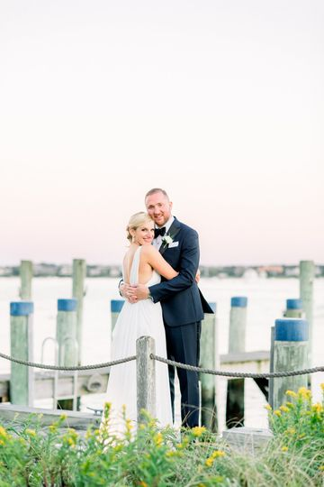 Nantucket Wedding Docks