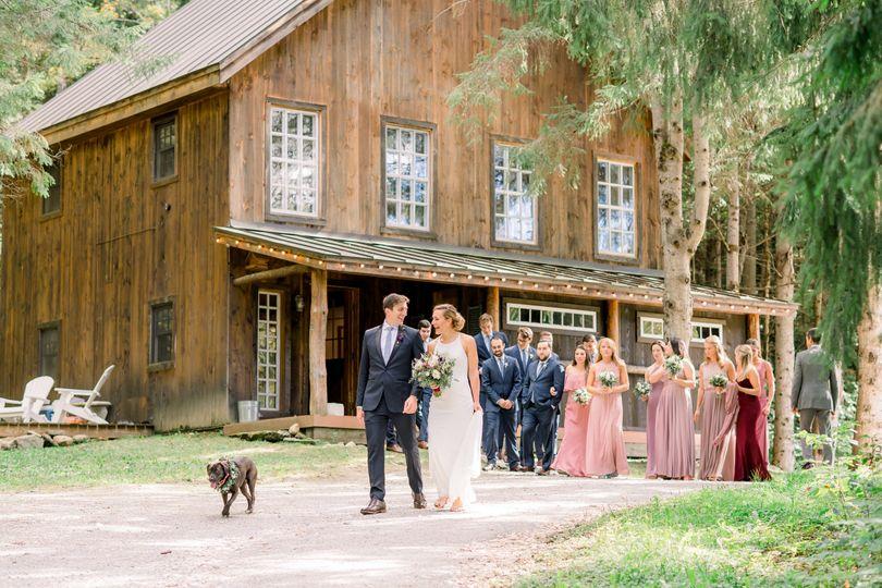 Ali & Matt's Vermont Wedding