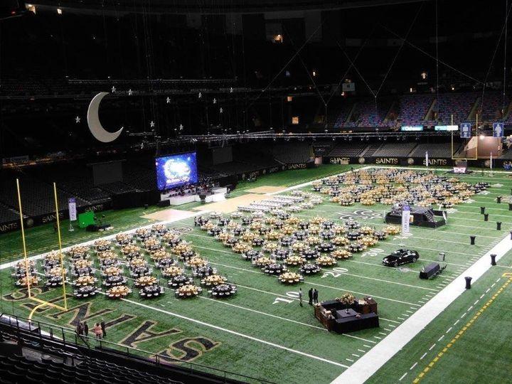 Football field setup