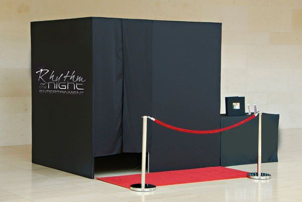 Enclosed Photobooth with optional Red Carpet Upgrade
