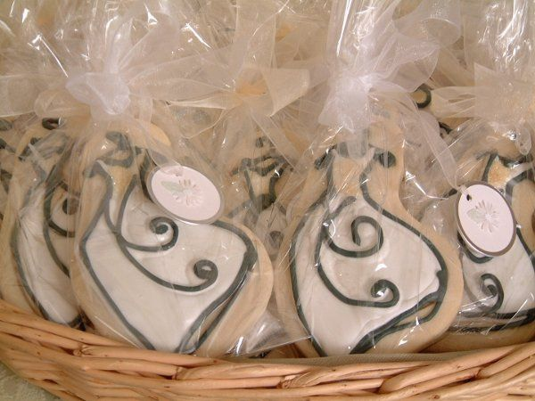Bridal Dress Cookies perfect for a shower.