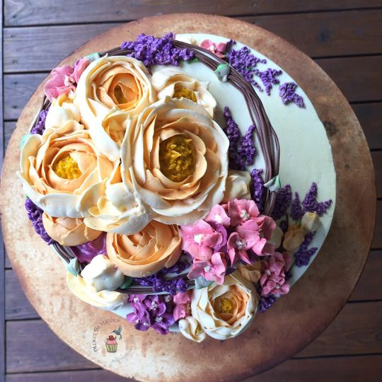 Buttercream floral