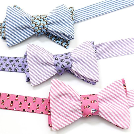 Make your big day unique with our mix and match bow ties!