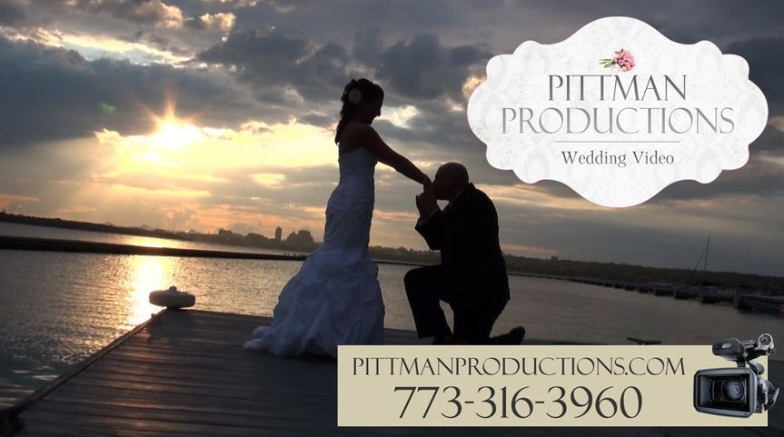 PittmanProductionsWeddingVideoEastPeoriaEastPortMarina