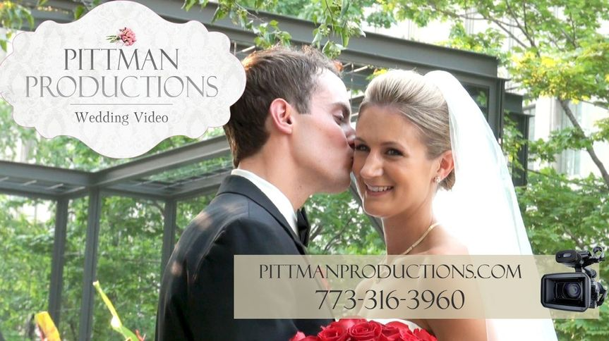 PittmanProductionsWeddingVideoChicagoCouple