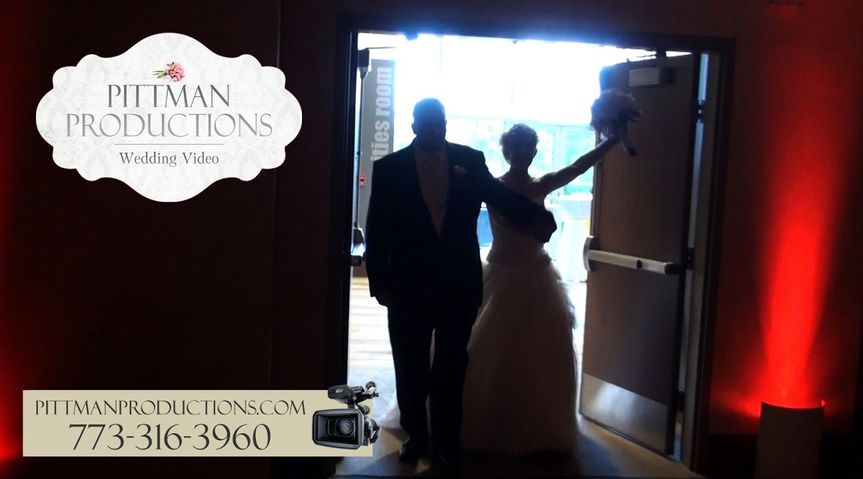 PittmanProductionsWeddingVideoChampaignIHotel