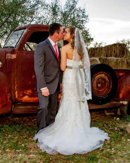 Kissing at the Old Truck