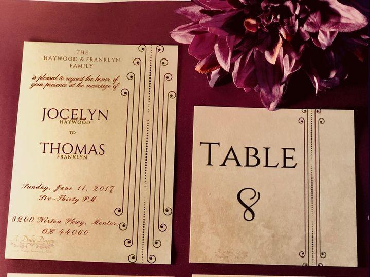 Tmx 1539320291 53c03fc9b58fb501 1539320289 A7c87d3bf8010e25 1539320288103 9 8D712820 57DC 4EF0 Cleveland, Ohio wedding invitation