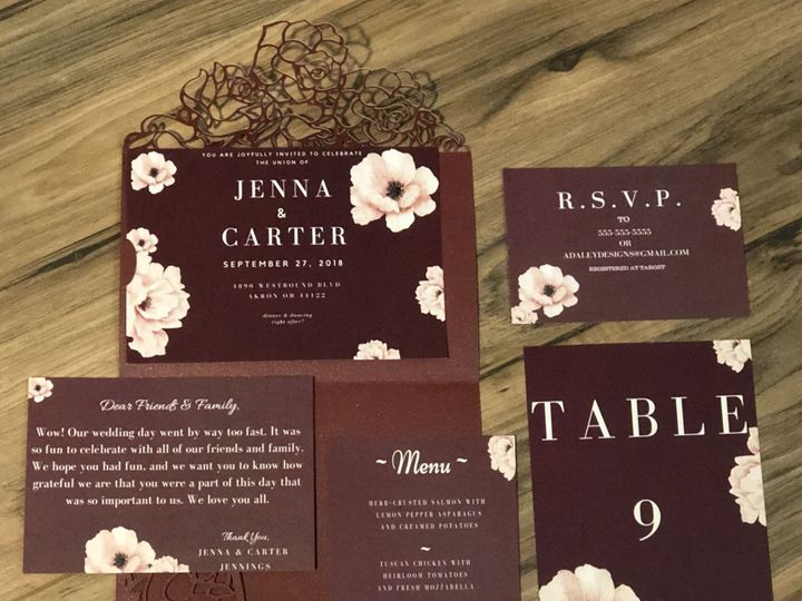 Tmx 1539320354 6c398be1c9954dac 1539320352 82941088f0b25523 1539320349210 13 F00E983B EF0A 449 Cleveland, Ohio wedding invitation