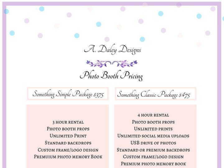 Tmx A Daley Designs Photo Booth Pricing 1 51 1017580 1570066617 Cleveland, Ohio wedding invitation