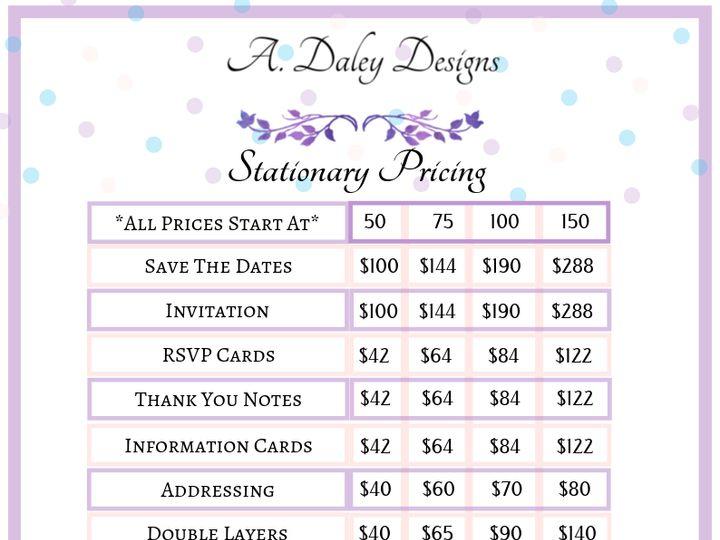 Tmx A Daley Designs Stationary Pricing 51 1017580 1570066619 Cleveland, Ohio wedding invitation