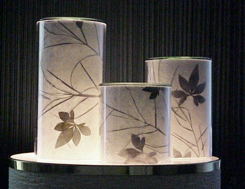 These candles are available in 3 sizes.  You can choose from dozens of handmade papers, or, use...