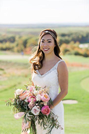 granite links wedding photography bride