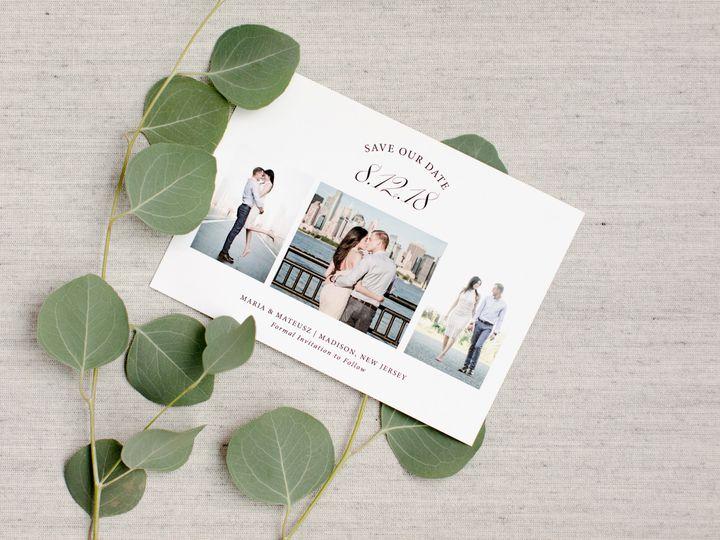 Tmx Laceandbelle 82 51 678580 Colonia, NJ wedding invitation