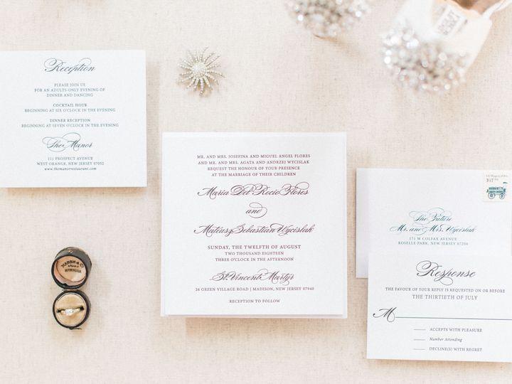 Tmx Michellebehrephotographynewjerseyfineartweddingphotographyforlaceandbelle 137 51 678580 Colonia, NJ wedding invitation