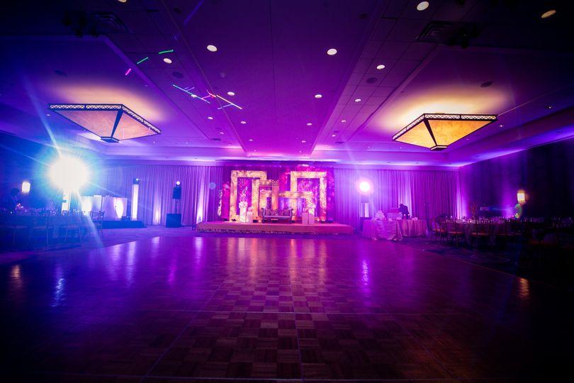 Ballroom hall