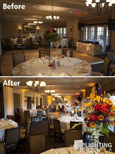 uplighting indian hills country club2