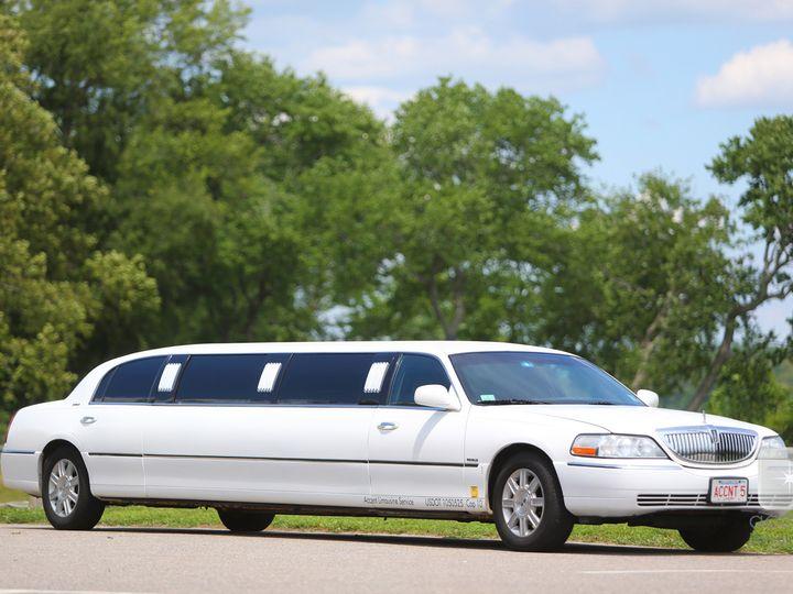Tmx 1509042794194 Lincoln   White Limousine Ext Milford, MA wedding transportation