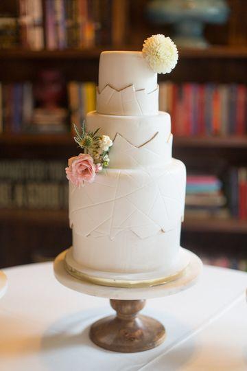 Layered Wedding Cake McKinney TX WeddingWire - Layered Wedding Cake