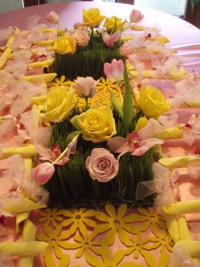 Flower setup